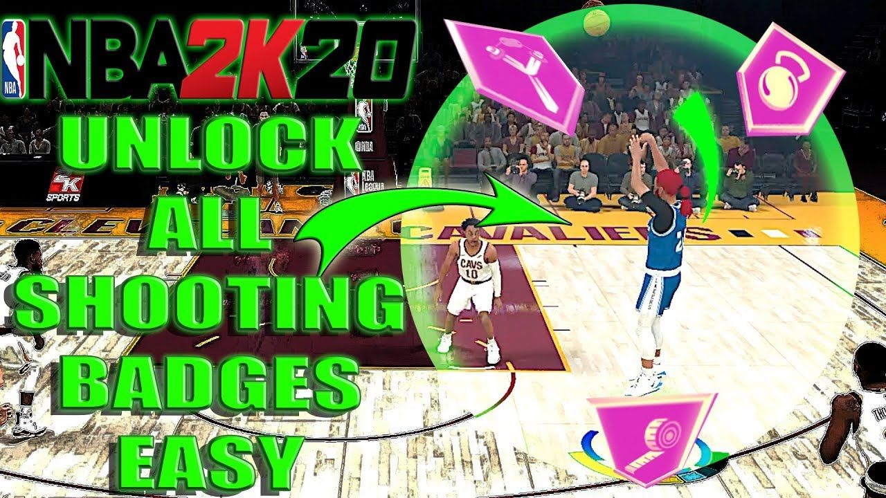 Fastest Way To Get All Shooting Badges In Nba 2k20 How To Unlock