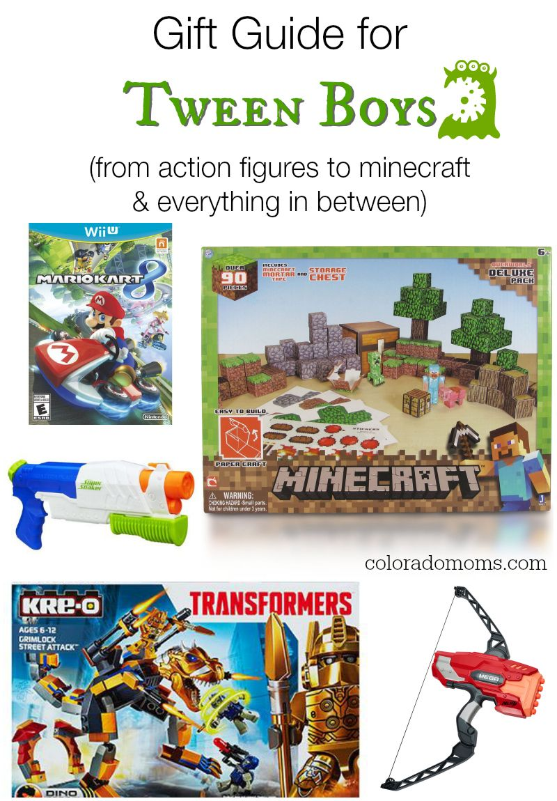 Gift guide for tween boys for birthdays and holidays gift guides