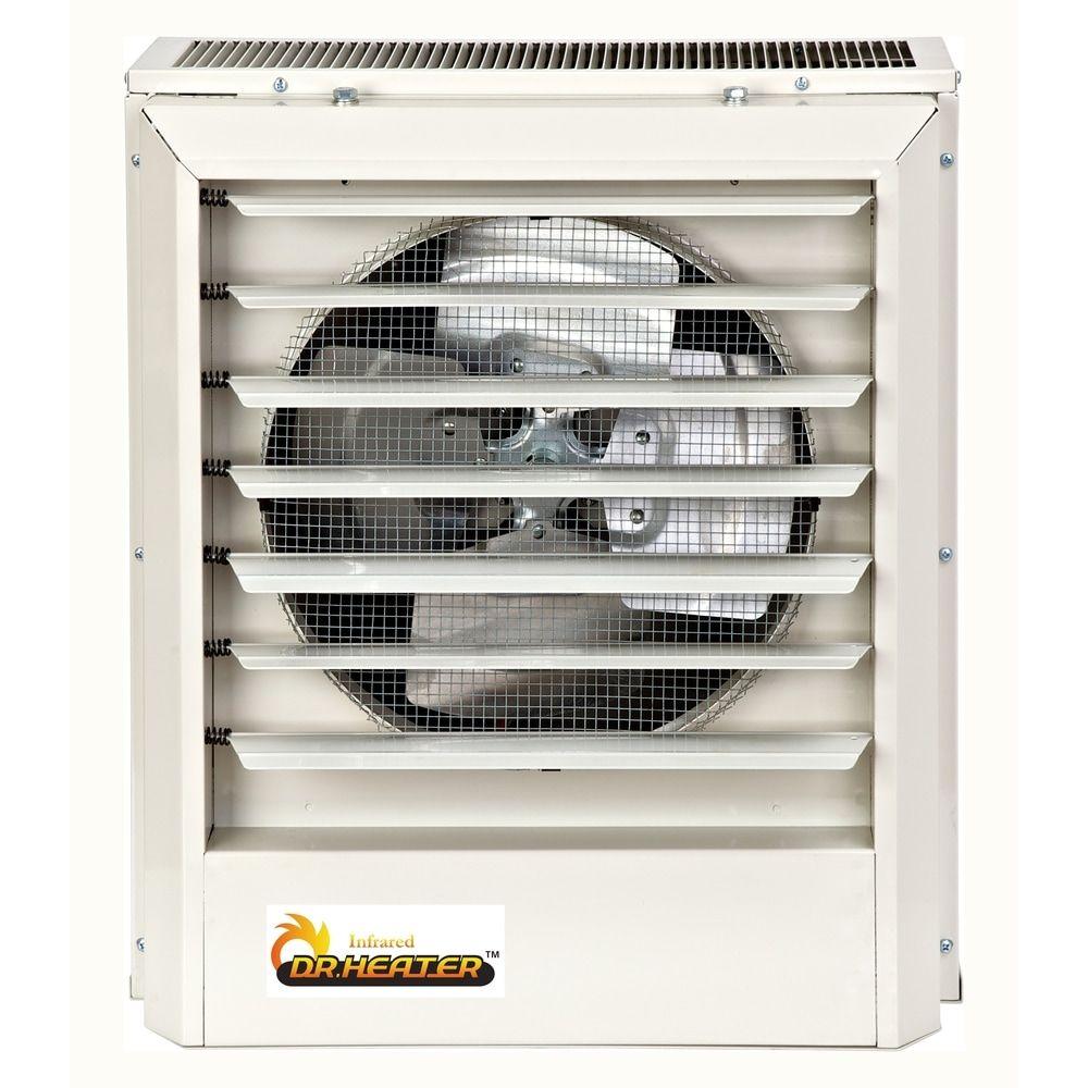 Dr. Infrared Heater 208V/240V, 7.5KW/10KW, Single or Three