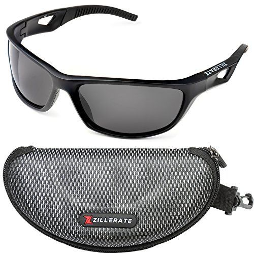 Shatterproof UV400 Hiking Wraparound Sunglasses Complete With Free Microfibre