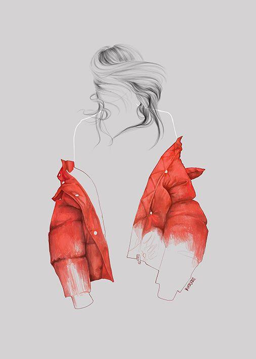 Street Fashion Illustration - Agata Wierzbicka