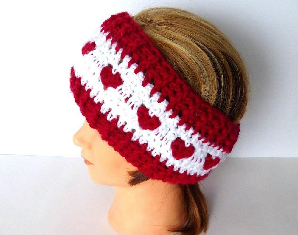 Crochet Headband Ear Warmer READY TO SHIP