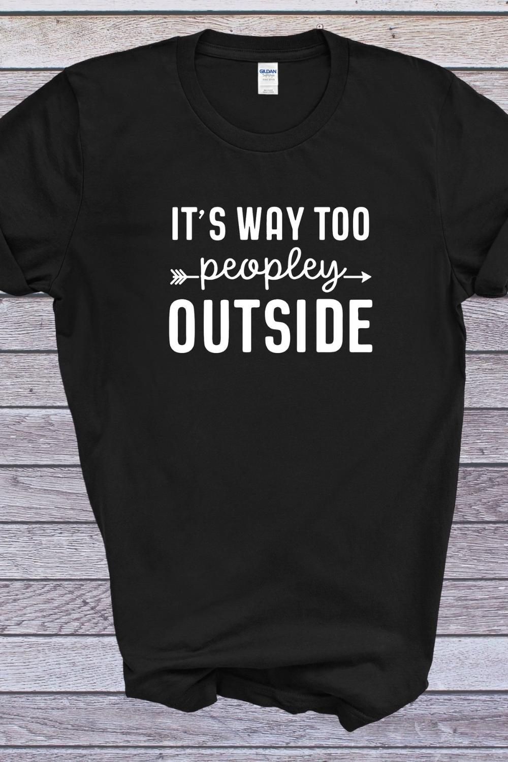Its Way to Peopley Outside Shirt, Introverts