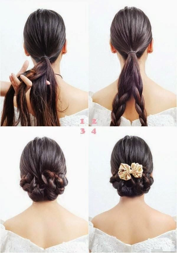 Simple and easy hairstyles for women Hairstyle 2014