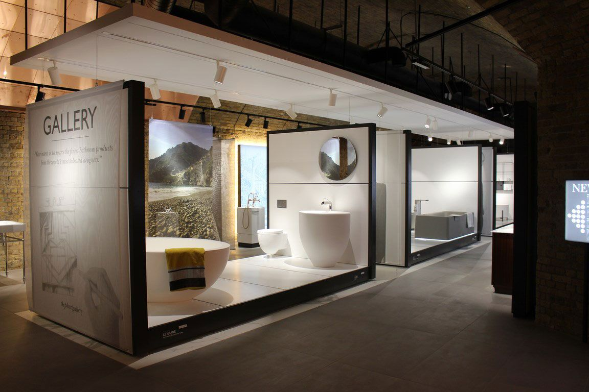 Bagno Design Bradford Cielo In The Gallery Area Of The Newly Expanded Waterloo