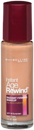 Maybelline New York Instant Age Rewind Radiant Firming Makeup Tan 340 1 Fluid Ounce Pack Of 2 You Can Get More Details B Age Rewind Tanned Makeup Makeup