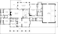 Southern Living House Plan Master As Mother In Law Suite Guest Library As The Master Jack Southern House Plans Southern Living House Plans New House Plans