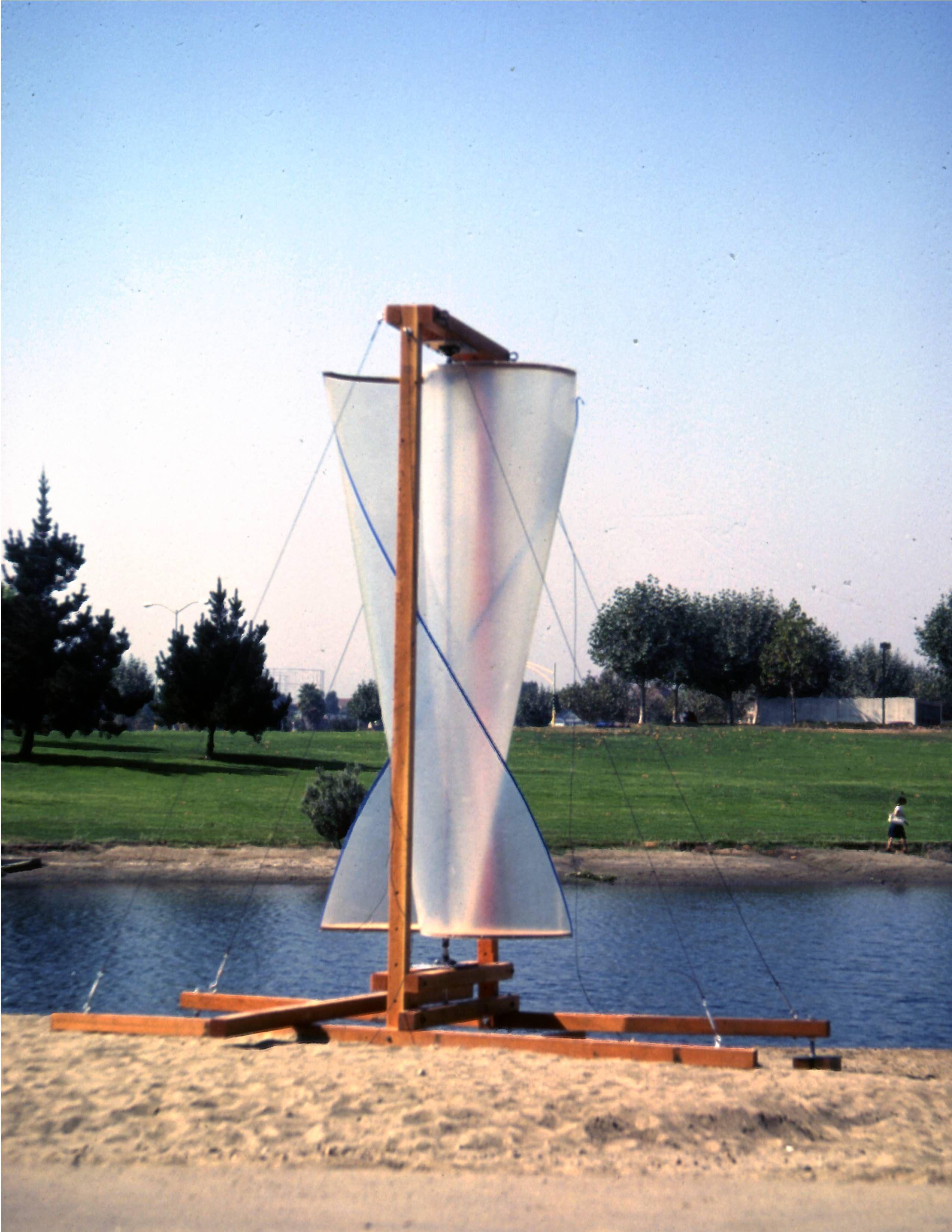 12 Foot 180 Degree Twist Savonius Rotor 1980 Synergy