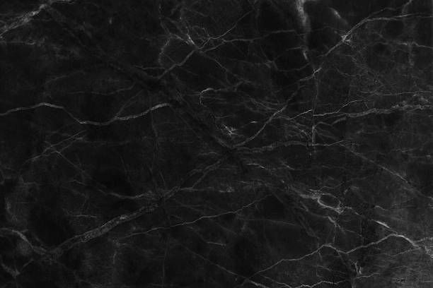 Black Marble Texture Background Detailed Structure Of