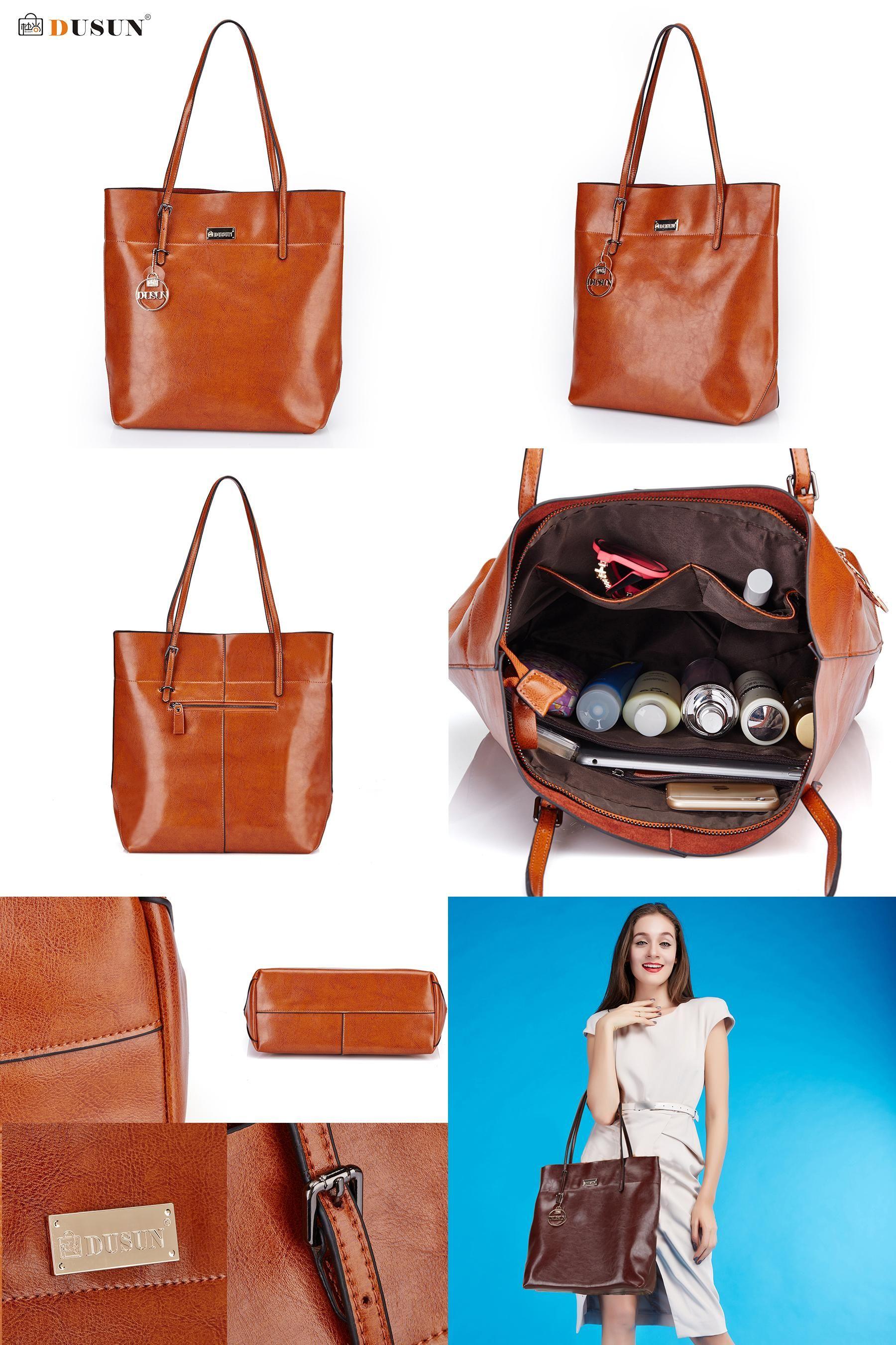 6e727f17d9  Visit to Buy  DUSUN Women Bag Genuine Leather Handbag Casual Women s Tote  Fashion Famous