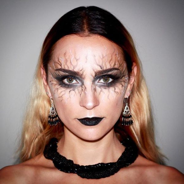 20 Seriously Cool (and Easy) Halloween Makeup Ideas Halloween - halloween makeup ideas easy