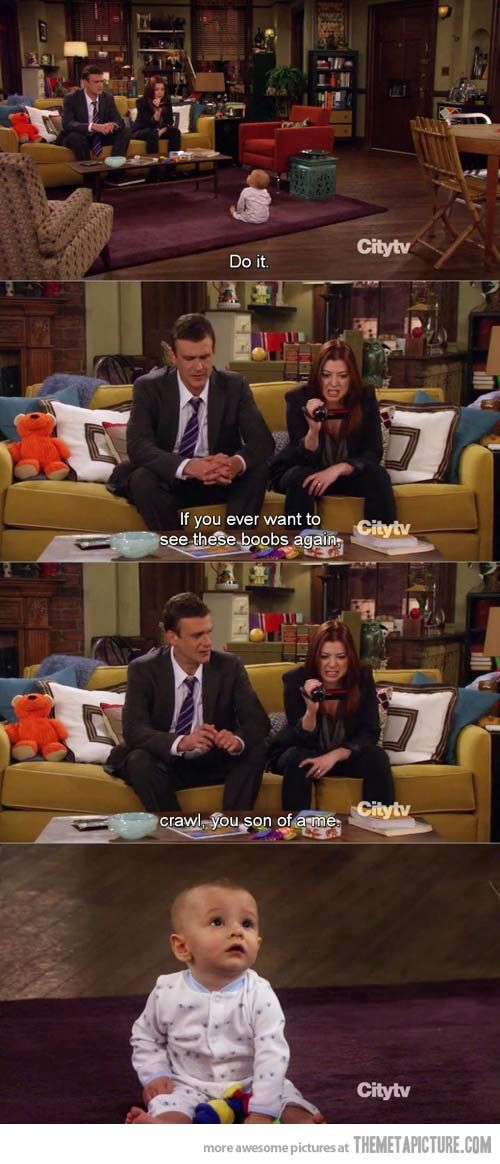 Lily Being Lily How I Met Your Mother Pinterest Frases De