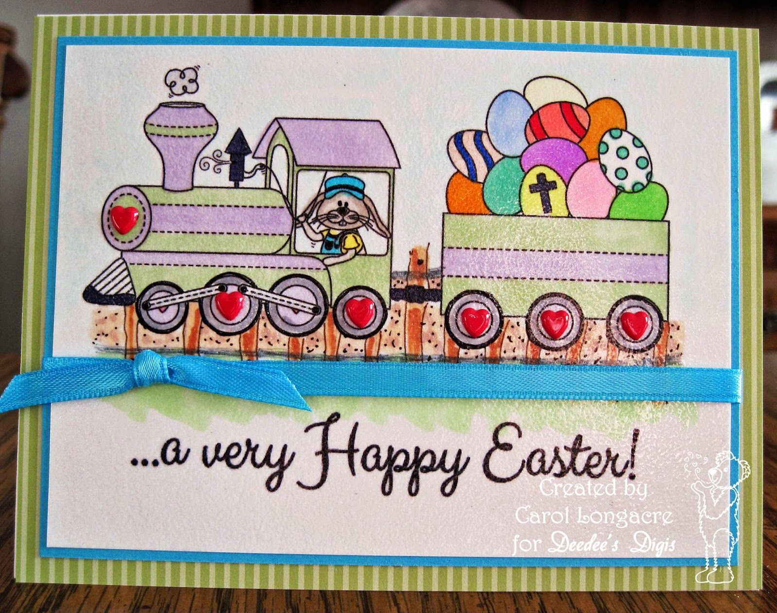 Deedee's digis - Right on Track for Easter