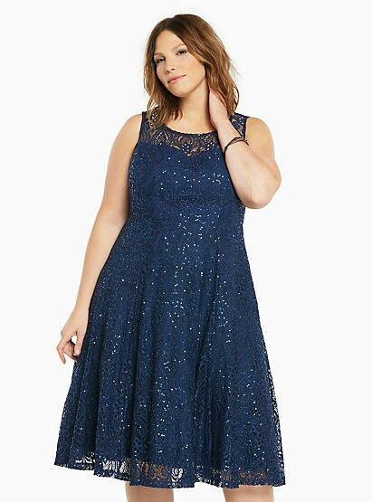 http://www.torrid.com/product/lace-sequin-midi-skater-dress ...