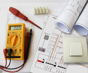 Introduction To Basic Electrical Drawings And Test Equipment Electricity Electrical Installation Electrical Plan
