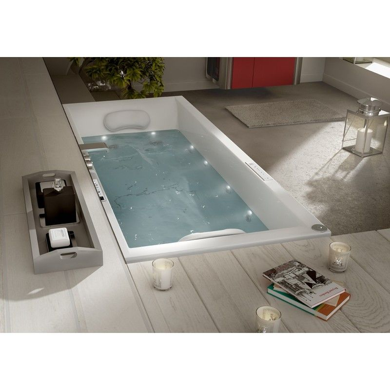 Baignoire Maestro Balneo Spaneo 80 X 180 Aquarine Bathtub
