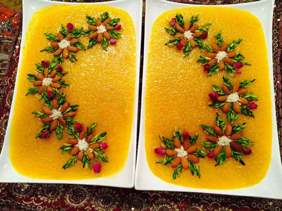 تزیین شله زرد | food ideas | Pinterest | Persian, Foods and Iranian