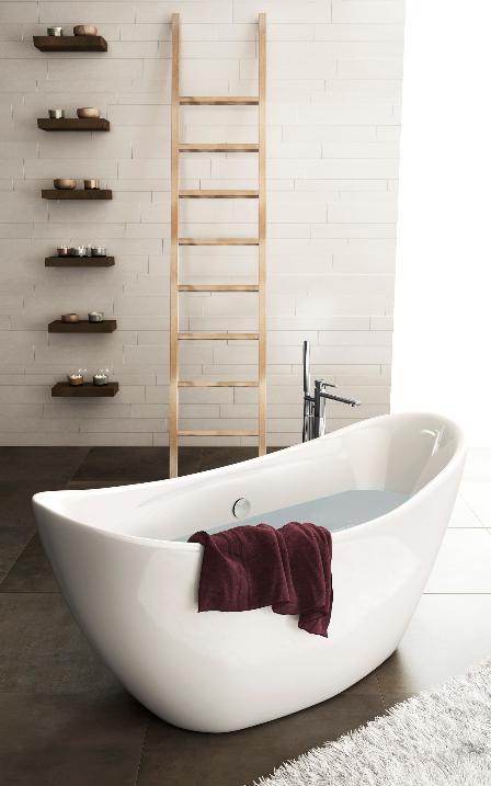Créer une ambiance singulière avec une baignoire Ilôt   Modern ...
