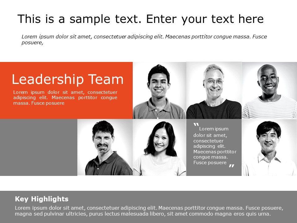 Team Profile 4 Members Powerpoint Team Powerpoint Templates Slideuplift In 2020 Powerpoint Slide Templates Powerpoint Templates Business Powerpoint Templates