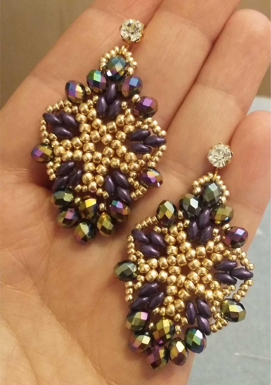 93e55294185d Orecchini Roma (DIY - Rome Earrings)