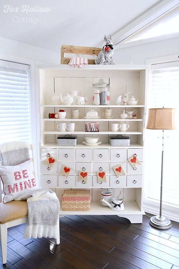Valentines Day Cottage Style Home Decorating Bloggers Best Diy