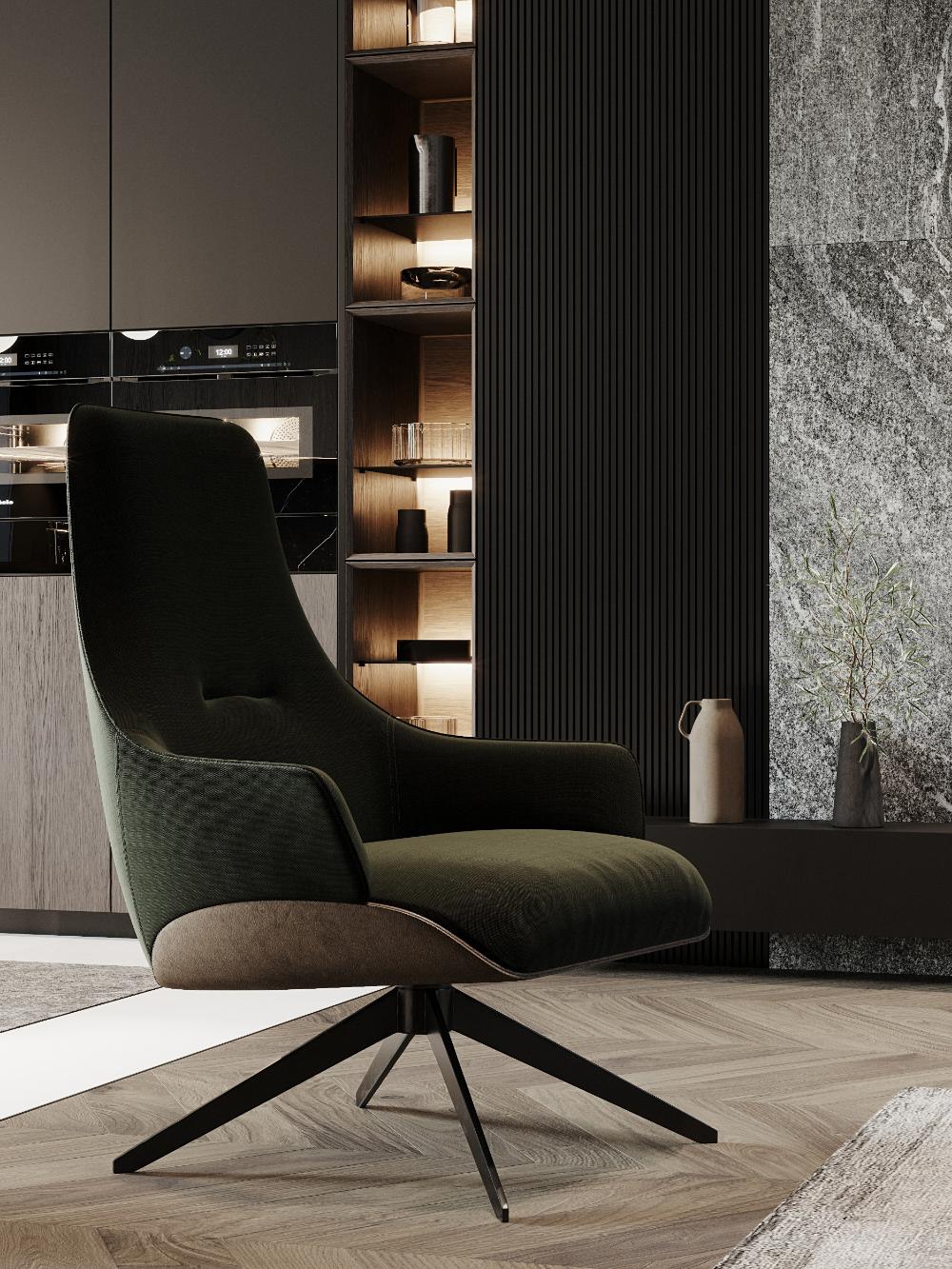 Autodesk Room Design: Dark Living Rooms, Apartment