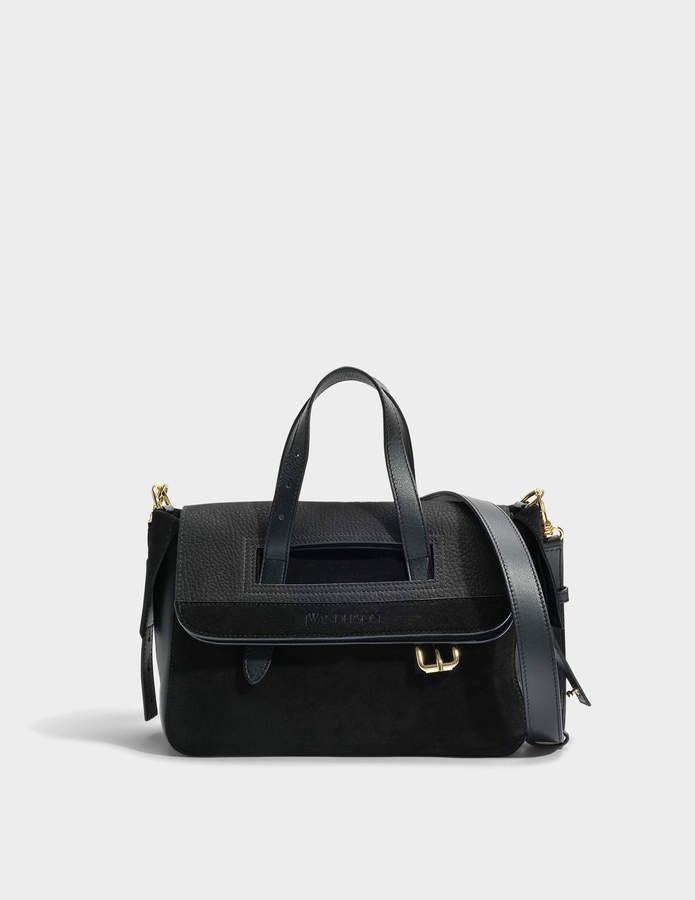 Mini Tool Bag in Black Grainy Nubuck J.W.Anderson BY9imJldb