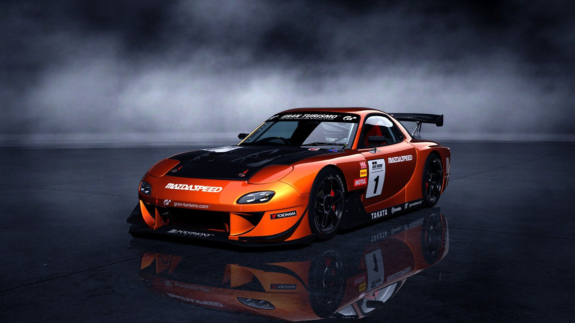 Amazing Stylish And Expensive Racing Cars Hd Wallpapers: Amazing Mazda RX 7 Racing Car Wallpapers Desktop