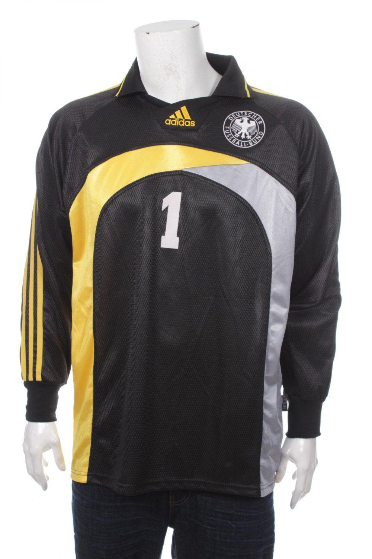 aa2e6b497a Vintage 90s Adidas Football (Soccer) Goalkeeper Short And Shirt Very Rare  Balck/Orange/Yellow Size L by VapeoVintage on Etsy