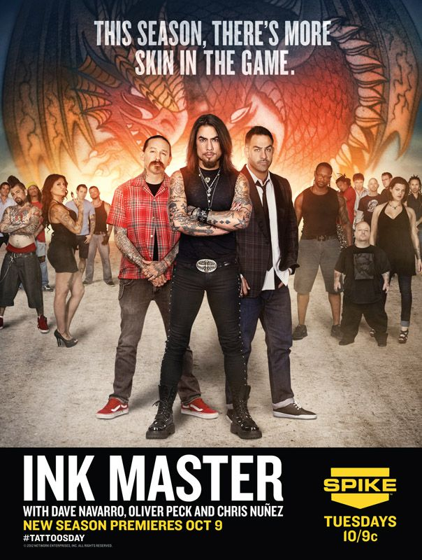 Ink Masters Season 2 poster photo by Monte Isom for Spike