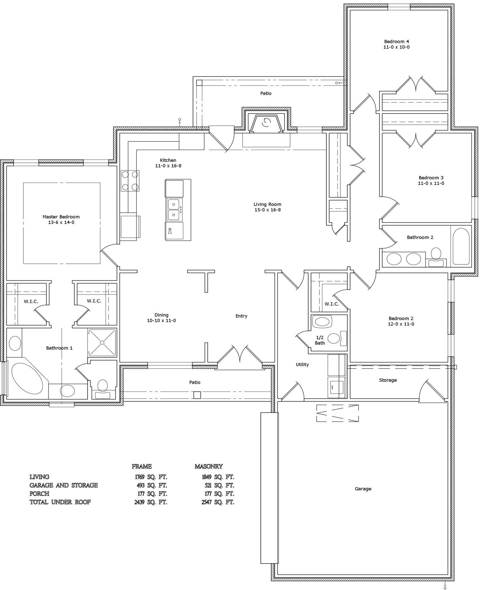 Finalized house plans by Design Studio in Jackson MS Can t wait