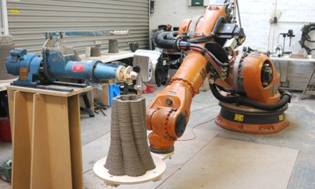 Clay Robotics A Sausage Maker Pug Mill And Robotic Arm Are