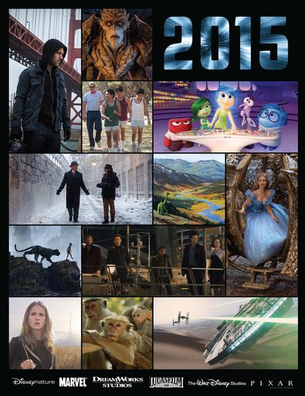 Disney Announces Release Dates for 2015