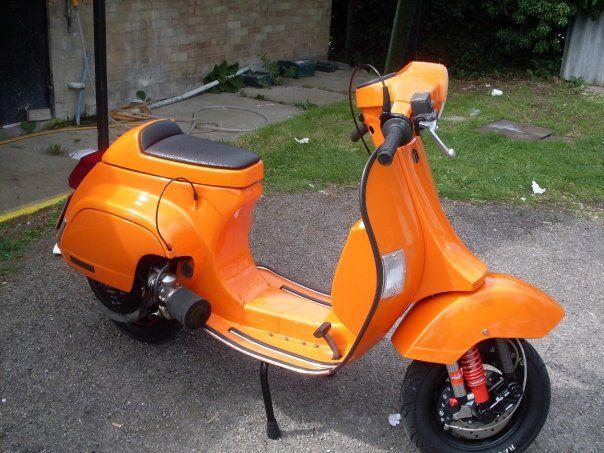 Cutdown Vespa Vespa Smallframe Vespa Scooters