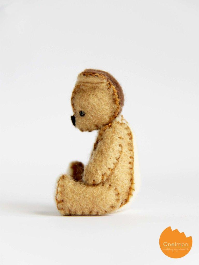 Diy Felt Plushie Onelmon Felt Animals Felt Plushie Felt Toys [ 1024 x 768 Pixel ]
