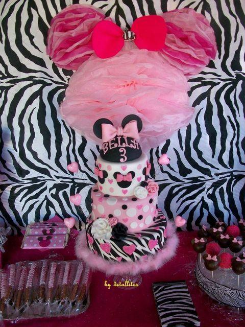minnie mouse-zebra layer
