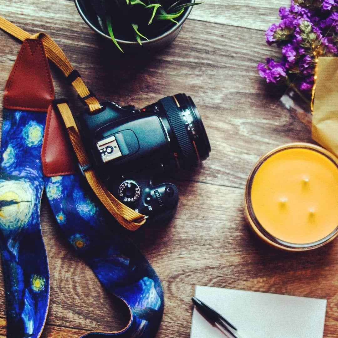 Map DSLR Strap Photography Adjustable Handmade Fabric Camera Strap Ocean