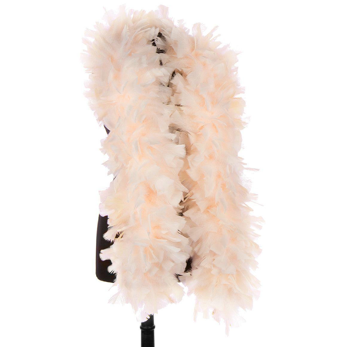 DreamAngels Peach 150 Gram Turkey Feather Boas