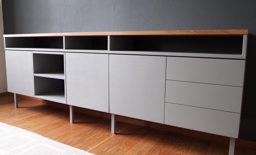 Graues Sideboard tolle graues sideboard top