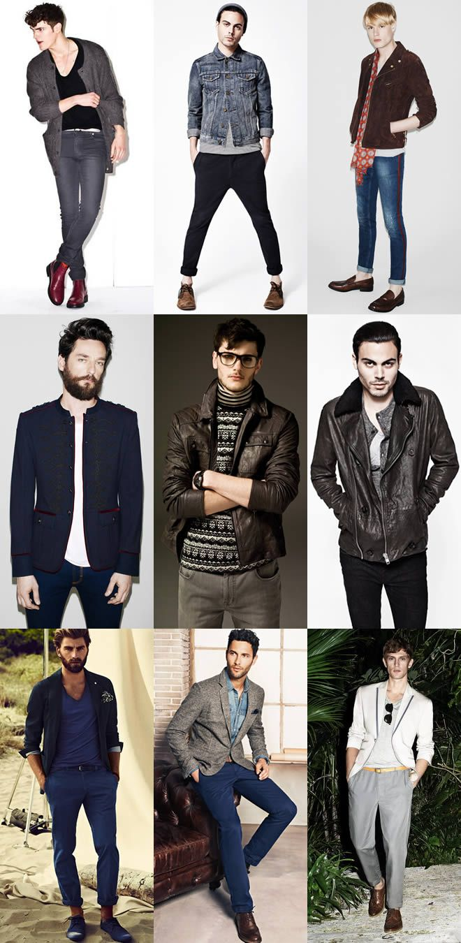 Casual mens wear