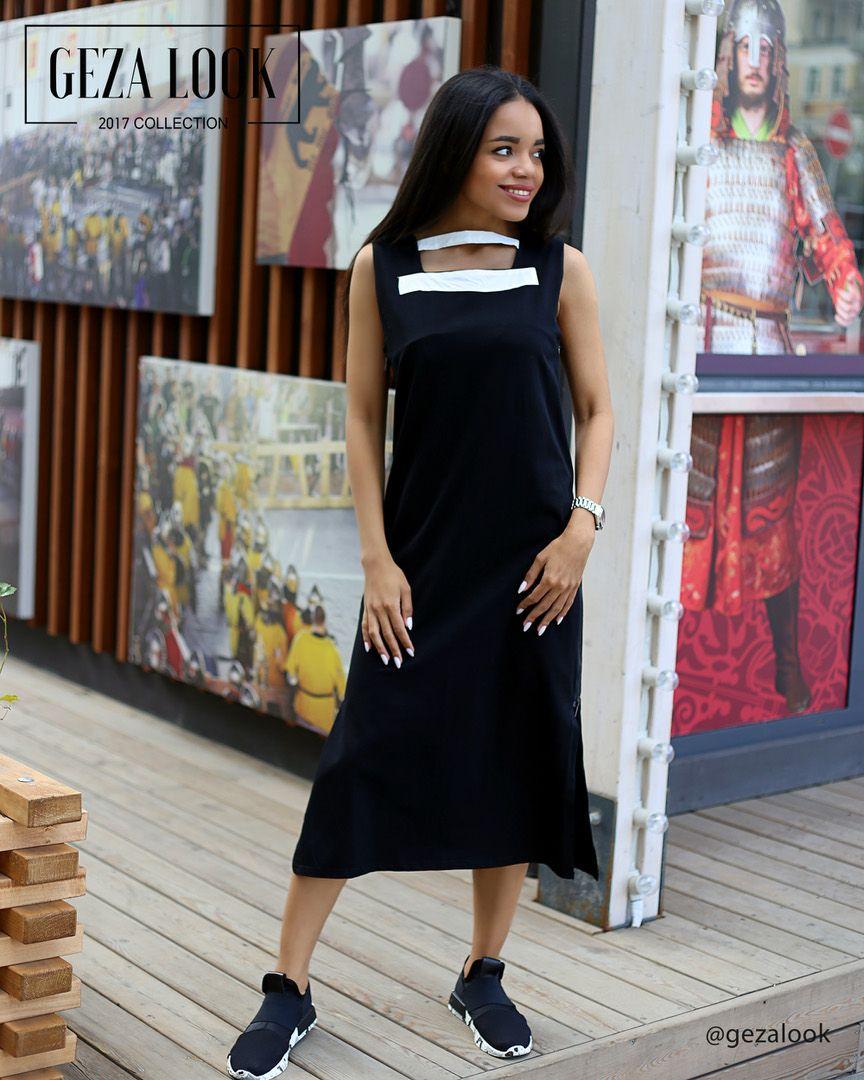 Платье в центре внимания