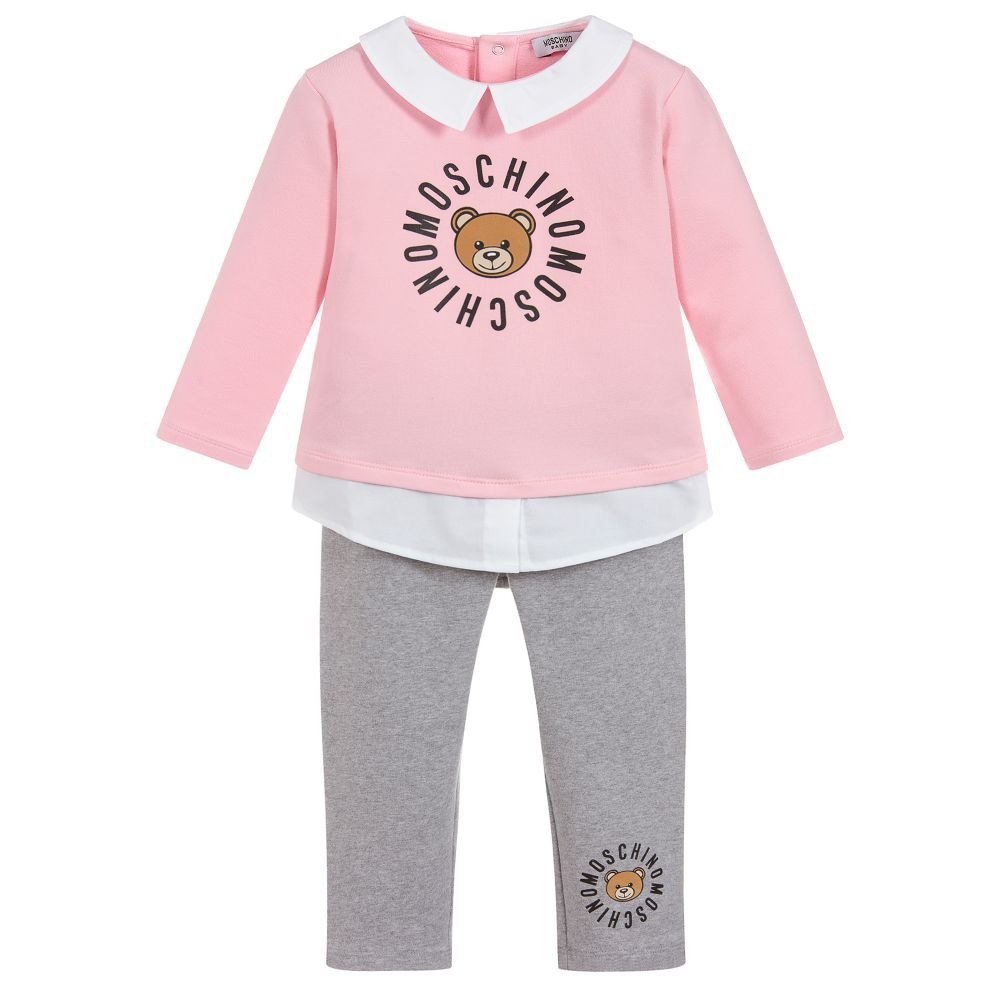 9ccad461d 2 Piece Baby Trouser Set for Girl by Moschino Baby. Discover more ...