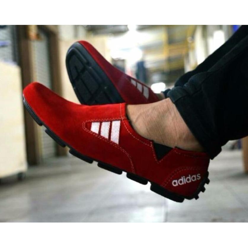 Jual New Arrivals Mocas Sepatu Adidas Casual Slip On Pria Sepatu