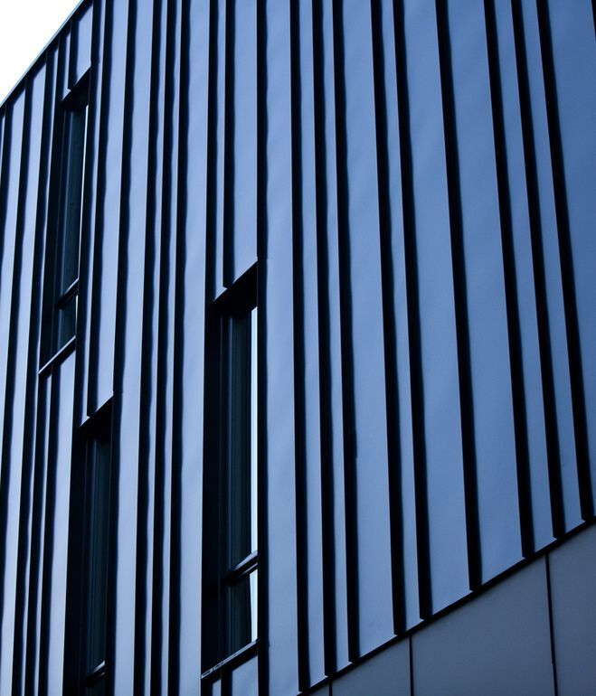 Image Result For Standing Seam Metal Panel Stair Tower