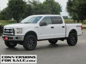 Lifted White 2015 Ford F150 4wd Xlt Ford Trucks For Sale Lifted Ford Trucks Ford Trucks