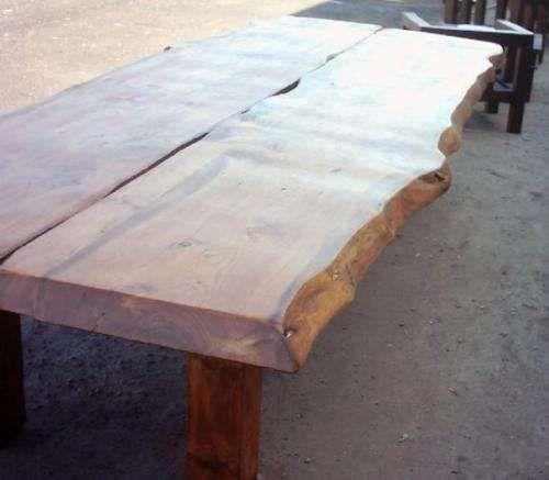 Mesas para comedor y quinchos en maderas duras | Proyectos que ...
