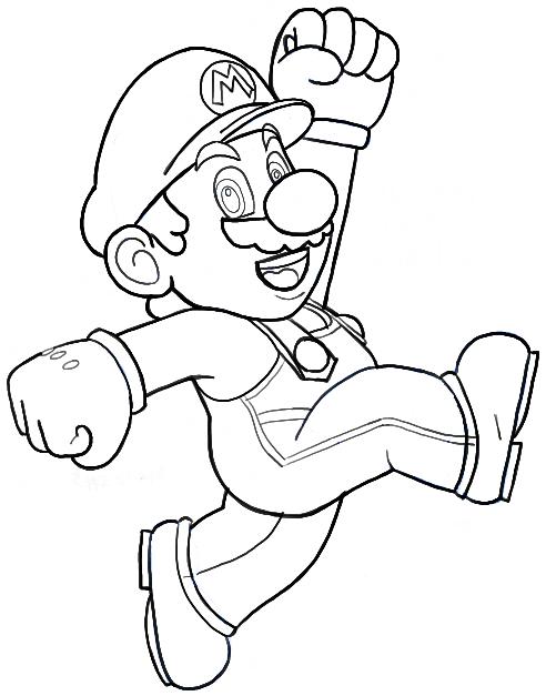 How To Draw Mario From Nintendo Super Mario Bros Drawing Tutorial