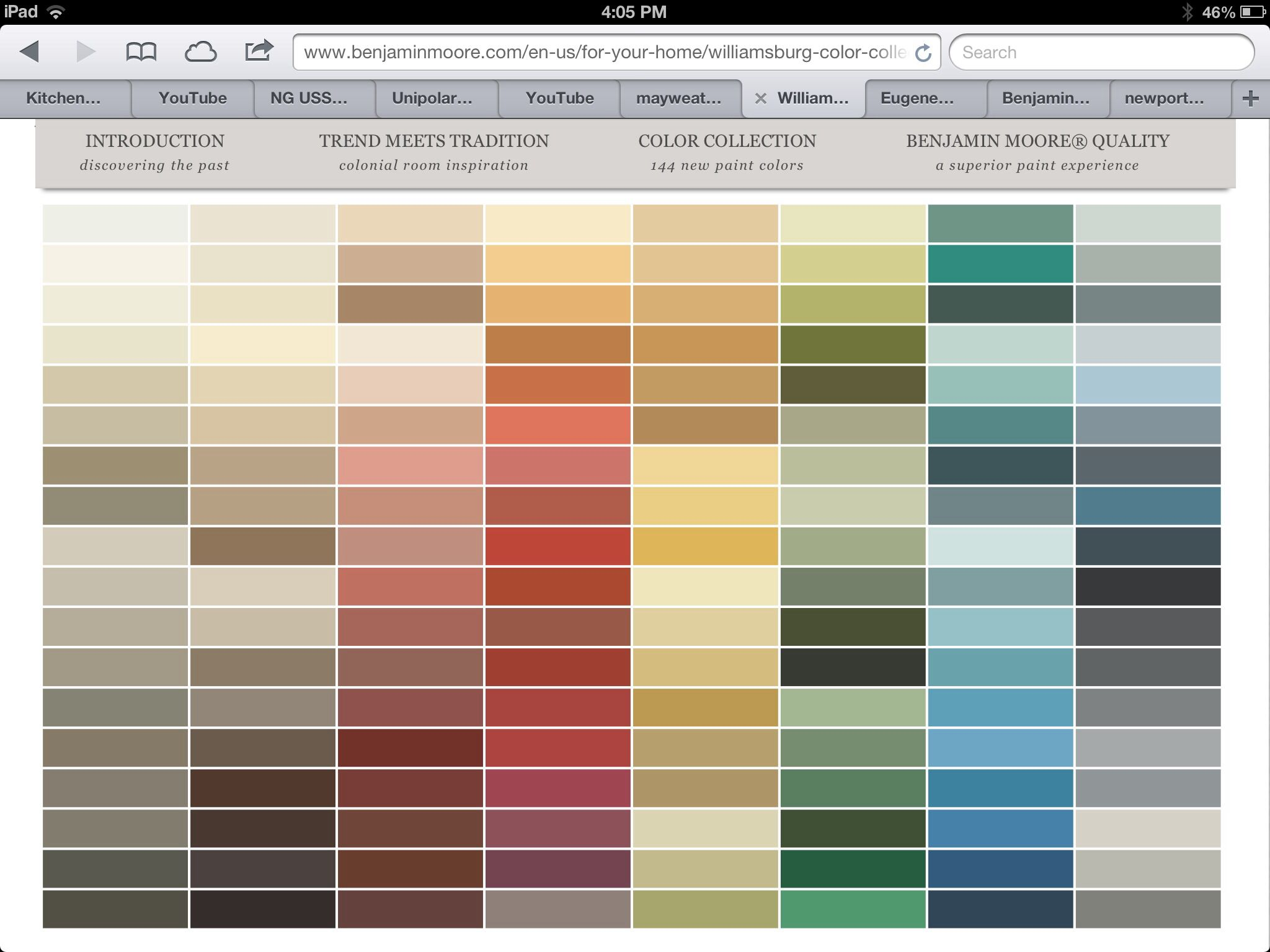 Benjamin moore paint colors chart ben moore color chart images free any chart examples nvjuhfo Choice Image