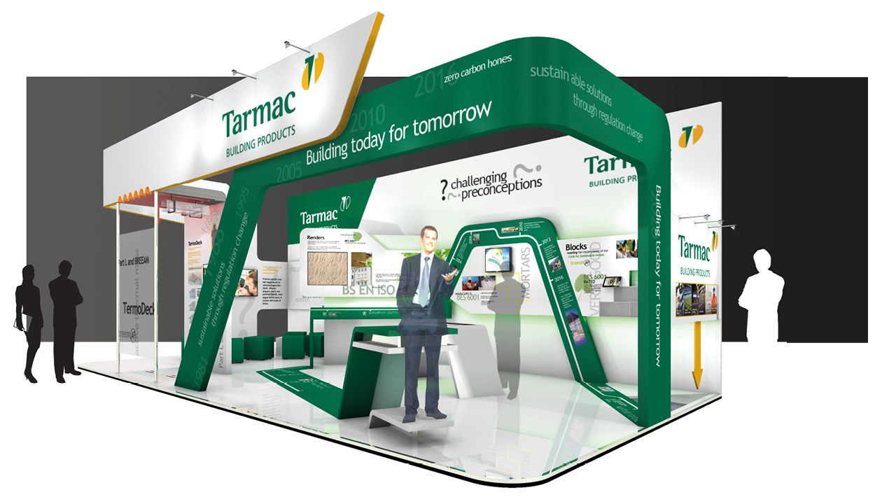 Stand Firm Designs : The design and build for ecobuild exhibition stand