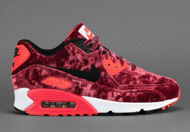 Big Discount 66 OFF Nike Air Max 90 Red Velvet New Images Release Info Air 23 259094